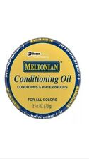 Meltonian MINK OIL PASTE Leather Conditioner WaterProofer proTect Boot Shoe Tin