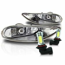 02-04 Camry, 05-08 Corolla, 02-03 Solara Fog Light Kit w/Wiring & COB LED Bulbs