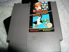 Nintendo Nes Super Mario Bros Duck Hunt  Game Cart    Pal