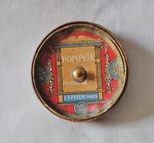 Antique Pompeia Poudre De Riz L.T.Piver Paris Small Powder Box
