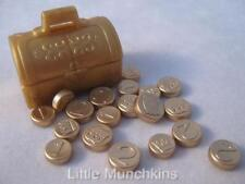 Playmobil Golden casket & shiny coins NEW Pirate/Castle/Palace extras