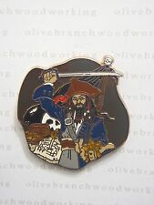 Disney Pirates of the Caribbean CAPTAIN JACK SPARROW Legend Golden Pins Starter