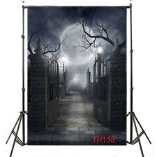 Halloween Vinyl Photography Backdrop Background Photo Studio Props 3X5FT TH