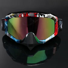 Dirt Bike Scooter Motocross Goggles MTB MX Off Road Colored Lens Vintage Glasses