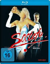 Society (Blu-Ray) Billy Warlock, Devin DeVasquez, Brian Yuzna NEW and SEALED