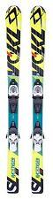 2015 Volkl RaceTiger 120cm Junior Skis w/ 4.5 3Motion Bindings