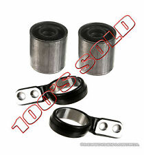 CONTROL ARM ARMS BUSHING BUSHINGS RETAINER BRACKET for BMW E46 325Xi 330xi SET 4