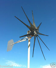 WIND TURBINE WIND GENERATOR 850 WATT 10 blade ULTRA LOW 48 VAC 3-PHASE 3 WIRE