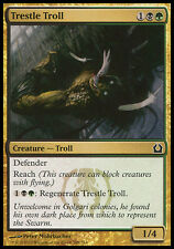 1x FOIL Trestle Troll Return to Ravnica MtG Magic Gold Common 1 x1 Card Cards