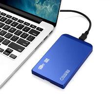 """USB 3,0 2,5"""" SATA Festplattengehäuse HDD Festplatte Case Dünn für PC Aluminium"""