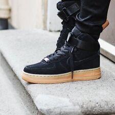 Nike Air Force Black Suede