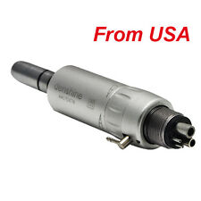 USA Shipping! Dental Slow Low Speed E-type Air Motor Micromotor 4 Hole fit NSK