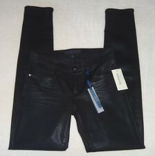 "NWT Juicy Couture ""Black Coated Skinny Jean"" Jeans (Size: 27)"