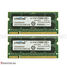 New 4GB 2x2GB PC2-6400 DDR2-800Mhz 200pin Sodimm Laptop Notebook Memory NON-ECC