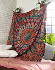 Queen Hippie Indian Tapestry Bohemian Mandala Throw Wall Hanging Gypsy Bedspread
