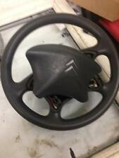 2005 CITROEN C5 5DOOR HATCH STEERING WHEEL AND DRIVER RIGHT FRONT BADGE AIR BAG