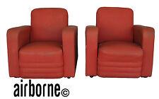 Paire de fauteuils Marcel Gascoin pour Airborne années 1950