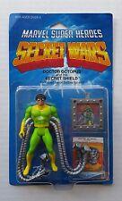 1984 Mattel Marvel Super Heroes Secret Wars DOCTOR OCTOPUS Sealed on Card