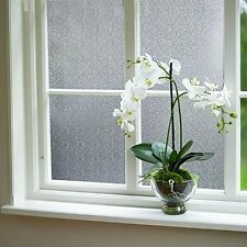 """Self-adhesive Privacy Frosted Static Glass Window Film 17.7""""x78.7"""" (S090)"""