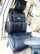 TO FIT A AUDI A1 CAR, SEAT COVERS, ROSSINI LEATHERETTE YS 01 BLACK