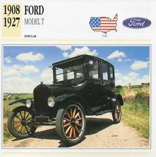 1908-1927 FORD MODEL T Classic Car Photograph / Information Maxi Card