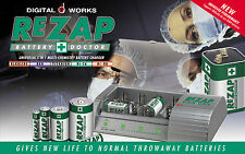 REZAP BATTERY DOCTOR- Do Something For the Environment- Reduce Battery Waste NOW