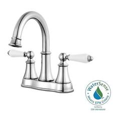 Courant 4 in. Centerset 2-Handle Bathroom Faucet in Polished Chrome F-048-COPC
