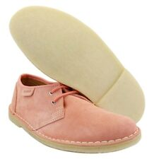 New Clarks Original Womens ** DESERT JINK ** DUSTY PINK SUEDE ** UK 4 / true 3.5