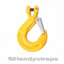 6mm Clevis Sling Hooks  with Safety Catch - Lifting Chain  Lifting Hook