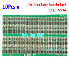 10PCS 3.7V 3A Li-ion Lithium Battery 18650 Charger BMS Cell Protection PCB Board