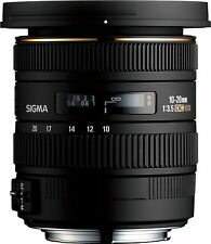 Sigma EX 10-20mm f/3.5 HSM DC Lens (NIKON FIT) ***3 YEAR SIGMA UK GUARANTEE***