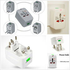 Universal 110-220V US EU AU UK World Travel Power Socket Plug Adapter Convertor