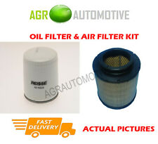DIESEL SERVICE KIT OIL AIR FILTER FOR TOYOTA HILUX 2.5 144 BHP 2010-
