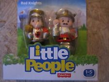Fisher Price Little People Red Knights Castle NEW two dragon chicken shield toy