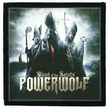 POWERWOLF blood of the saints Toppa (patch10x10) grave digger, blind guardian