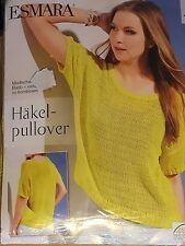 Esmara Häkelpullover Pullover Pulli Gr. L 44/46 gelb Neu & OVP