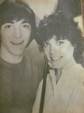 Scott Baio and Erin Moran, Full Page Vintage Pinup