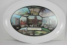 Anheuser Busch 1977 Sales Convention Large Plate Serving Tray Budweiser Beer