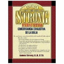 Nueva Concordancia Strong Exhaustiva de la Biblia by James Strong (2002,...