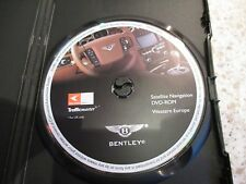 BENTLEY WESTERN EUROPE SAT NAV DISC SATELLITE NAVIGATION DVD ROM FREE POST 2011