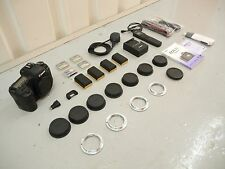 Canon EOS 5D Mark II 21.1MP Digital SLR Camera, 4 x LPE6 Batteries & Accessories