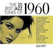 Various Artists The 25 Best Jazz Tunes Of 1960 (2cd) CD