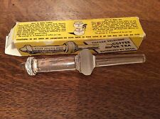 Vintage CORY Glass Filter Rod for Vacuum Coffee Tea Pot/ In Original Box
