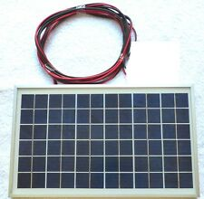 10w Solar Panel c/w 3m Cable Polycrystalline for Charging 12v Batttery System CE