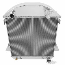 1924-1927 T-Bucket with Chevy Config All Aluminum 3 Row Core Champion Radiator