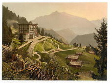 Leysin Grand Hotel Nand Of Canton A4 Photo Print