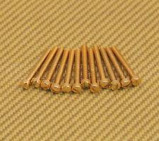 006-2642-049 (12) Gold Genuine Gretsch Filtertron Pickup Pole Piece Screws