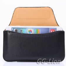 """Belt Clip Sleeve Pouch Holster Leather Case Cover for iPhone 7 Plus 5.5"""""""
