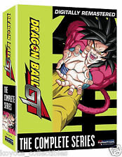 Dragon Ball GT & Movie DVD Set - Complete Series 10 Disc Collection NEW & Sealed