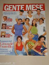 GENTE MESE=2000/11=MARINA LA ROSA=PIETRO TARICONE=GRANDE FRATELLO=FATTI DEL MESE